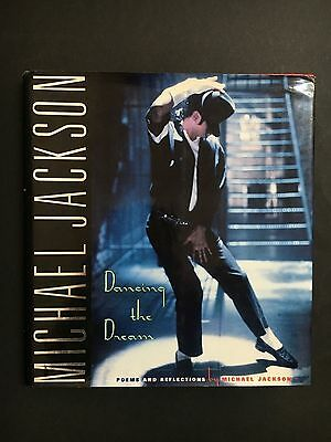 """Michael Jackson Hard Cover Book """"dancing The Dream"""" 152 Pages"""