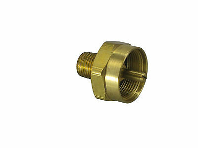 "Connector, MAPP gas cylinder (CGA600) to 1/4"" NPT (F-144)"