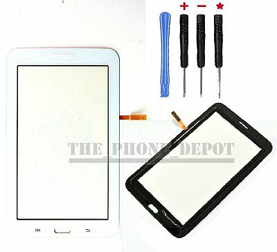 "For Samsung Galaxy Tab 3 Lite SM-T110 7.0"" Touch Screen Digitizer Lens White UK"
