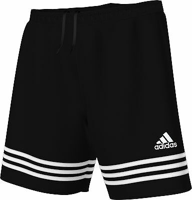 Adidas Entrada 14  Football Shorts Black Adult Size Small To Xl Bnwt