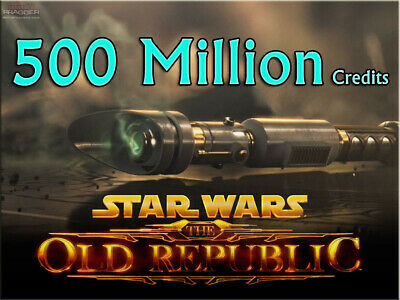 10000K SWTOR Credits 10 Million Star Wars The Old Republic alle EU NA Server