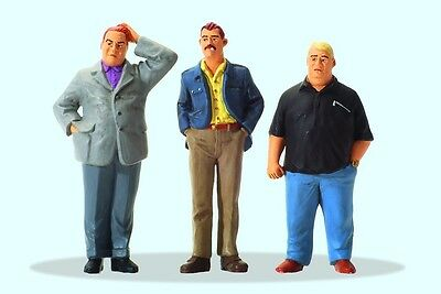 Preiser 44906 1:22.5 G Scale LGB Gauge Serious Situation, 3 figures - NEW - MIB