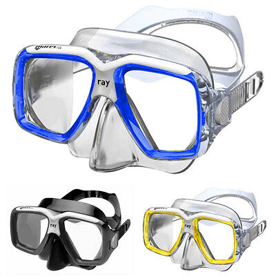 MARES Ray Twin Lens Snorkelling Dive Diving Mask - Silicone Skirt and Strap NEW