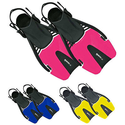 Mares Childs / Kids Coral Snorkelling Fins Flippers with Easy Adjust Strap - NEW