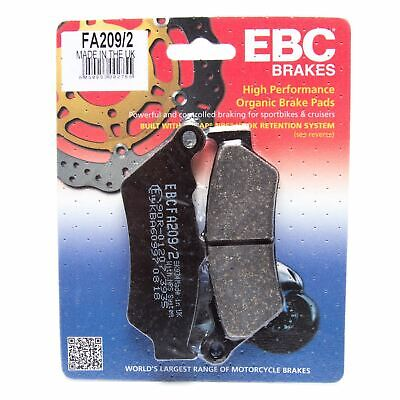 EBC FA209/2 Motorcycle Front Brake Pads Honda NT 650 V Deauville 98-01
