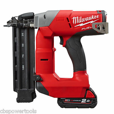 Milwaukee M18 CN18GS-202X 18V Fuel 18 Gauge Nailer Kit