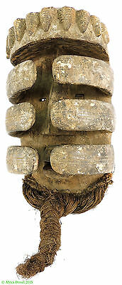 Bete Nyabwa Spider Mask Hiding Face Liberia African Art SALE WAS $750