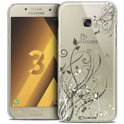Coque Crystal Samsung Galaxy A3 2017 (A320) Extra Fine Rigide Love Hearts Flower