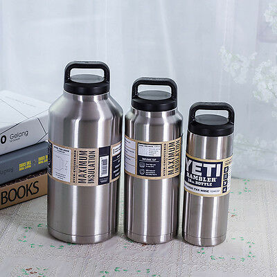 18oz YETI Rambler Stainless Steel Vacuum Insulated Bottle with Cap