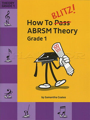 How To Blitz ABRSM Theory Grade 1 Sheet Music Book Tests Exams