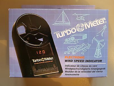 Davis instruments Turbo meter wind speed indicator