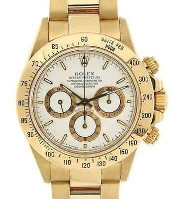 Rolex DAYTONA ZENITH MOVIMENT 16528 YELLOW GOLD, 40MM 16528