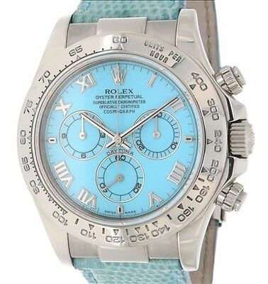 Rolex DAYTONA 116519 WHITE GOLD, LEANTHER, 40MM 116519
