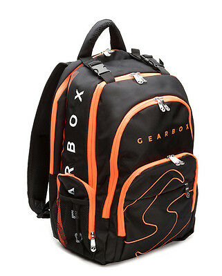 Gearbox Racquetball Bag PRISM Backpack in Black / Orange