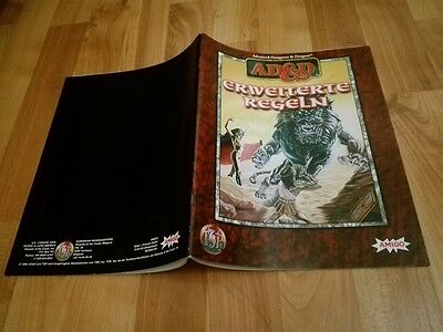 Erweiterte Regeln Band Ad&d Tsr  Advanced Dungeons & Dragons Ad&d Sehr Gut