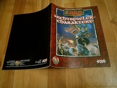 Nichtspieler Charaktere Heft Ad&d Tsr  Advanced Dungeons & Dragons Ad&d Sehr Gut