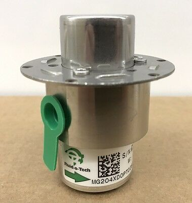 New Genuine Oem Fluid-O-Tech Mg 204 Magnet Drive Stainless Steel Gear Pump