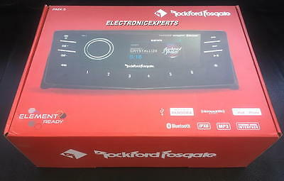 Rockford Fosgate PMX-5 Marine USB/MP3/BLUETOOTH Digital Receiver 7 Band EQ NEW