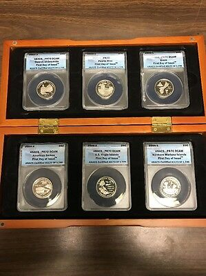 2009 S D.C. And  U.S. Territories  PF70DCAM ANACS with Nice Wooden Box