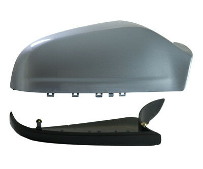 Vauxhall Astra H MK5 04-09 Wing Mirror Cover & Lower Holder RHS Silver Lightning