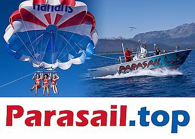 Parasail.top Domain Name for TOP PARASAIL SERVICES Company Business Website