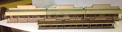 NSWGR N  Scale  The Cooroy Country Shops Or Mid West Inline Backboard Kit