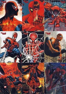 Spider-Man Archives 2009 Rittenhouse Archives Base Card Set Of 72 Marvel