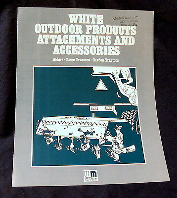 Vintage White Motor Corporation Outdoor Products Advertising Brochure, 1970's!