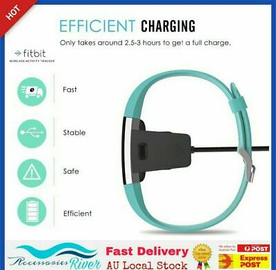 BRAND NEW Charging Cable for Fitbit CHARGE 2 Wristband USB Charger - AU SELLER