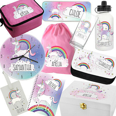 UNICORN GIFTS. Personalised Gift For Girls. Customised Name Present. Birthday.