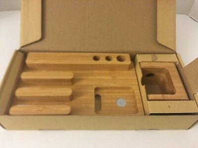 Apple Watch Charging Stand 100 % Natural Wood NEW DESIGN HAND MADE