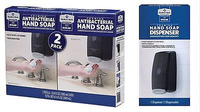 Members Mark Commercial Soap Dispenser & 2 Pack Antibacterial Foam Hand Soap
