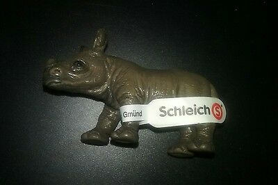 Schleich African Black Rhino Calf Figure 14395 NEW US Seller
