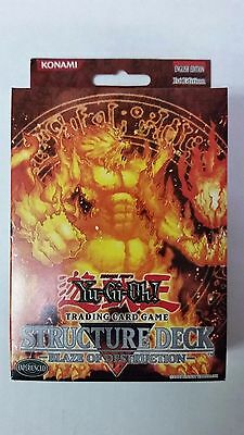 YUGIOH BLAZE  OF DESTRUCTION 1ST EDITION Structure Deck  Sealed  English