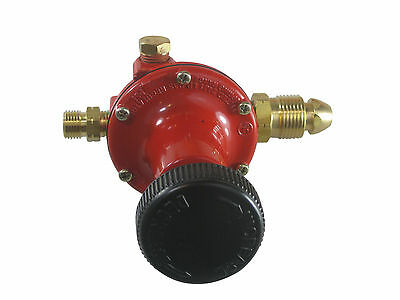 LPG regulator for gas torch/burner control 10-60 psi