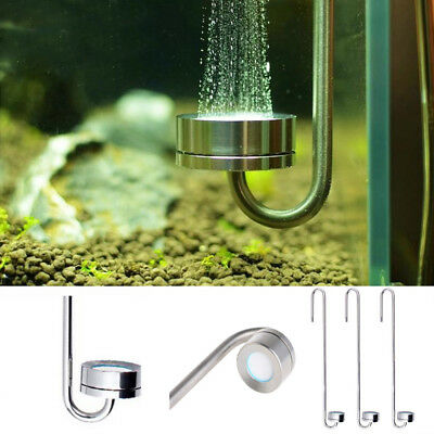 Aquarium Excellent Ultra Thin Stainless Steel CO2 Diffuser CO2 Dissolve Rate