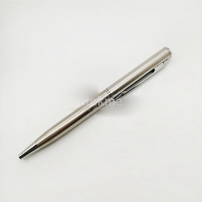 Office School Stainless Steel Metal Ballpoint Ball Point Pen CA