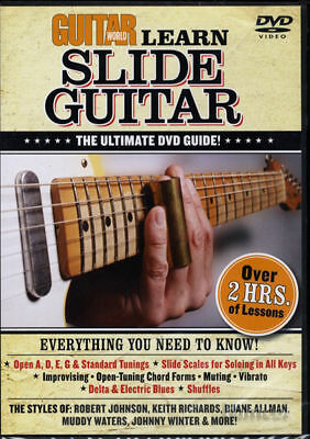 Guitar World Learn Slide Guitar How to Play Tuition DVD