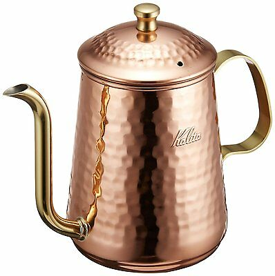 Kalita Coffee Drip Pour over Kettle Copper Pot 600 mL / 20 fl oz Made in Japan