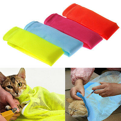 Pet Cat Grooming Bag For Cat Care Washing Bath Nails Cutting Ear Cleaning
