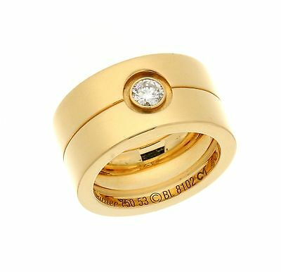 Cartier CARTIER HIGH LOVE DIAMOND RING IN YELLOW GOLD