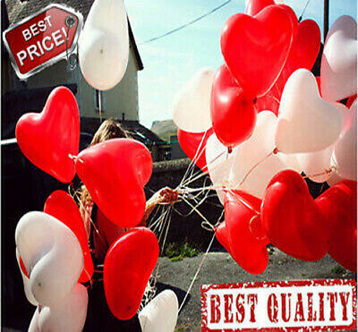 """50-2000 Pack WHOLESALE 10 -12'' Printed """"I Love you"""" and Hearts Latex  Balloons"""