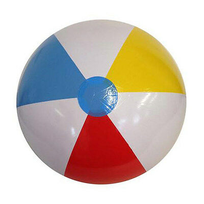 "Kids Childern inflatable beach ball summer swimming fun 24"" inch Large"