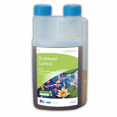 NT Labs Pond Aid Cristal Clear Duckweed Control 500ml Pond Treatment