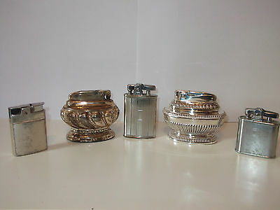 Mixed Lot of Vintage Lighters - Ronson