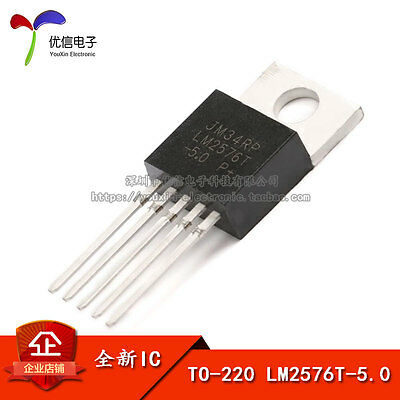 10PCS X LM2576T-5.0V TO-220-5 Made in China