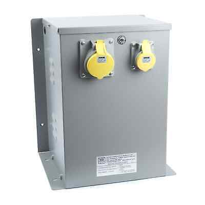 Enclosed 240/110V (240V to 110V) Input Protected Transformer 5kVA
