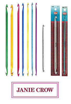 Double Ended Tunisian Crochet hooks, Knit Pro, Prym Addi
