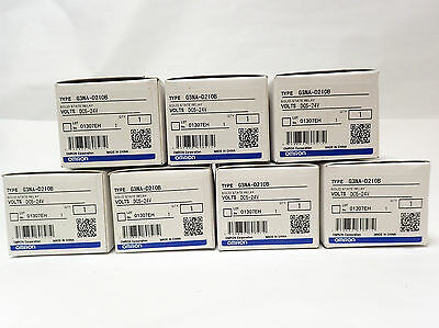 Set Of 7 Omron Solid State Relay G3Na-D210B Dc5-24V