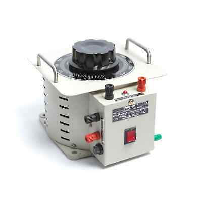RAVI 20P-1 Bench Mountable Enclosed Variable Autotransformer (Variac) 1ph 20A
